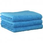 """Хлопковые полотенца.          Полотенце CAWO """"Life Style"""" 7007 Синий"""