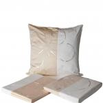Постельное бельё Deluxe. Двуспальное постельное белье Майский цветок белый-слоновая кость от Catherine Denoual Maison