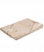 Постельное бельё Deluxe. Постельное белье Bianca ЕВРО (семейное) с двумя пододеяльникам (155х200) Слоновая кость от Blumarine Art.76284