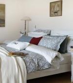 Постельное бельё. Постельное белье FIRENZE двуспальное евро (200х220) Серый от Casual Avenue