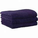"""Хлопковые полотенца.          Полотенце CAWO """"Life Style"""" 7007 Лиловый"""