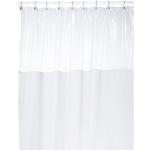 Шторки для душа и ванны текстильные. Защитная шторка Window Extra Long 10 Gauge White белая