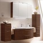 Мебель для ванной комнаты. Pelipal Cassca Комплект подвесной мебели 1210 мм, цвет: шоколад