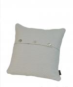 Декоративные подушки. Декоративная подушка Fresno (Hasir) (40х40) слоновая кость от Casual Avenue