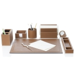 Аксессуары для кабинета Deluxe. Аксессуары для рабочего стола Phil office accessories, tobacco by GioBagnara