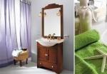 Мебель для ванной комнаты. Eban Carla 75 композиция Т23 мебель для ванной NOCE
