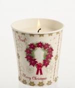 Новый Год. Горшочек «Рождественская Звезда» Корица, гвоздика, апельсин от Stone Glow Арт.3565