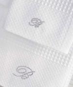 Полотенца хлопковые Deluxe. Комплект из 2х полотенец St Topez от Blumarine Art.78620
