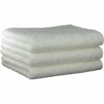 "Хлопковые полотенца.          Полотенце CAWO ""Life Style"" 7007 Белый"