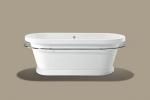 Ванны. Knief Aqua Plus Ванна модель LOFT V 1850 x 835 x 690 мм