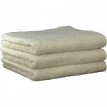 "Хлопковые полотенца.          Полотенце CAWO ""Life Style"" 7007 Натуральный"