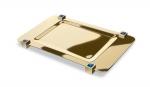 Аксессуары для ванной настольные. Подставка для предметов 51517OA (blue) Moonlight Square Gold Swarovski