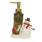 Новый Год. Дозатор для жидкого мыла Holiday Outhouses