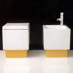 Унитазы Биде. Биде Althea Ceramica Design Plus 40059 комбинированое
