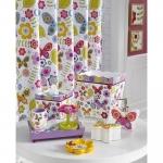 Аксессуары для детских ванных комнат. Butterflies керамические настольные аксессуары для ванной