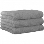 "Хлопковые полотенца.          Полотенце CAWO ""Life Style"" 7007 Платина"