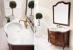Мебель для ванной комнаты. Eban Rebecca 105 мебель для ванной NOCE