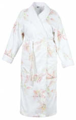 Халаты Одежда для бани и сауны.          Халат женский SCHLOSSBERG Лили