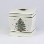 Новый Год. Бокс для салфеток (салфетница) Spode Christmas Tree 11523E