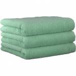 "Хлопковые полотенца.          Полотенце CAWO ""Life Style"" 7007 БЕЗ ЦВЕТА 1"