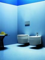 Унитазы Биде. Azzurra Glaze GLZ 100/SOSK bi Унитаз подвесной