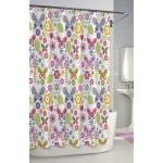 Текстиль для детей: полотенца, халаты, постельное бельё и др.. Шторка для ванной Butterflies SCB-115-BUT-W