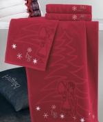 Новый Год. Комплект полотенец 1+1 Auguri от Blugirl Art.78584