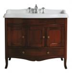 Мебель для ванной комнаты. SIMAS Arcade комплект мебели с закругленным фронтом ARMC105