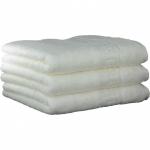 "Хлопковые полотенца.          Полотенце CAWO ""Nobless"" 1001 Белый"