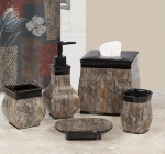 Аксессуары для ванной настольные. Borneo керамические настольные аксессуары для ванной