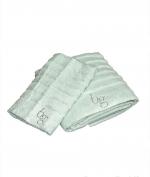 Полотенца хлопковые Deluxe. Комплект полотенец для лица и рук Natasha мятный от Blugirl art.78717-06