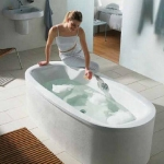 Ванны. Bette Steel Oval 6774 Ванна 190x90x45 см с шумоизоляцией, цвет: белый