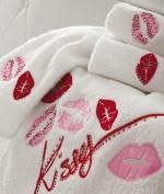 Полотенца хлопковые Deluxe. Комплект полотенец 1+1Mille Baci от Blugirl Art.78537