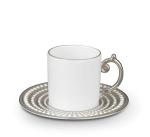 Посуда Столовые приборы Декор стола Deluxe. Кофейный набор Perlee Platinum