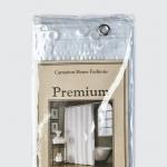 Шторки для душа и ванны текстильные. Защитная шторка Premium 8 Gauge Frosty Clear матовая