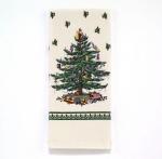 Новый Год. Полотенце кухонное с принтом Spode Christmas Tree 21523PKT