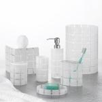 Аксессуары для ванной настольные. Hammam Spa стеклянные настольные аксессуары для ванной