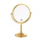 Зеркала косметические с подсветкой увеличением настенные настольные Зеркала с присосками. Зеркало настольное Imperiale двустороннее, с троекратным увеличением 504
