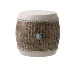 Банкетки Пуфы Скамьи. Барабан Wooden Drum