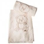 Текстиль для детей: полотенца, халаты, постельное бельё и др.. ПОЛОТЕНЦЕ (комплект) МИШКА БУБУ