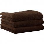 """Хлопковые полотенца.          Полотенце CAWO """"Life Style"""" 7007 Коричневый"""