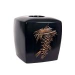 Салфетницы настольные настенные. Бокс для салфеток (салфетница) Asian Pine XASIAN005C