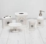Аксессуары для ванной настольные. Can Can керамические настольные аксессуары для ванной