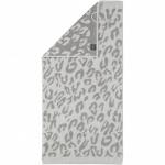"Хлопковые полотенца.          Полотенце CAWO ""Leopard"" 563 Светло-серый"