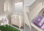 Мебель для ванной комнаты. Eban Federica 105 композиция Т14 мебель для ванной