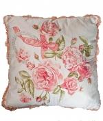 Декоративные подушки Deluxe. Декоративная подушка Christal Роза (42х42) от Blumarine
