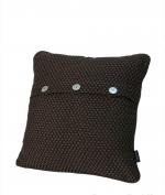 Декоративные подушки. Декоративная подушка Fresno (Hasir) (40х40) Шоколад от Casual Avenue
