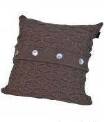 Декоративные подушки. Декоративная подушка PONTE VECCHIO (40х40) Коричневый от Casual Avenue