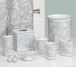 Аксессуары для ванной настольные. Beaumont керамические настольные аксессуары для ванной
