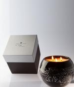 Ароматические свечи Парфюм для дома Диффузоры. Ароматическая свеча большого размера Coeur de Lune серебро от C'Toi